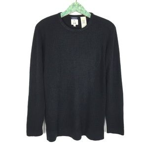 Cousin Johnny Sweater Large Black